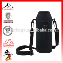 Travel Hiking Camping Insulator Case Water Bottle Carrier Bag Protector with Adjustable Shoulder Strap