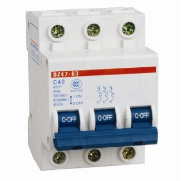 Min Circuit Breaker with Dz47-3p