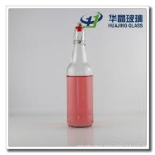 500ml Empty Old Shaped Glass Juice Bottles