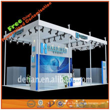 Cabina de exposición al aire libre del nuevo diseño 2013 con el panel de pvc para la exhibición de la cabina
