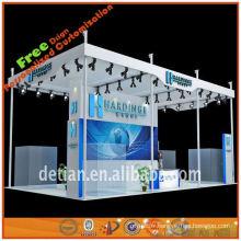 2013 nouveau stand d'exposition extérieure de conception avec le panneau de pvc pour l'exposition de stand