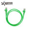 SIPU 7 / 0.12 cca pvc colores múltiples cat5e comunicación utp patch cord cable