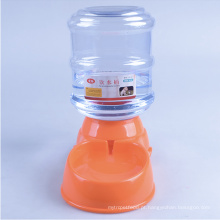 3.5 l pet temporizador automático da bacia do alimentador do alimento da água do cão