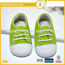 2015 nuevos zapatos de bebé suaves suaves de la fabricación de la nueva manera