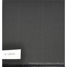 Tela de diseño de tela de lana de cachemir de lana a cuadros de poliéster y lana