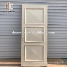 Puertas de madera de madera maciza con diseño de puertas internas