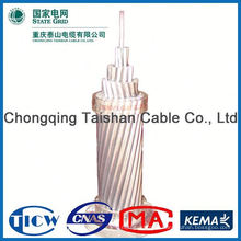 Factory Wholesale Prices!! High Purity acsr bare conductor for uae/ africa /southeast asia