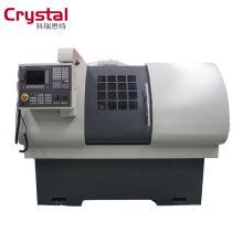 configuração opcional cnc torno máquina para usinagem de corte de metal de aço CK6432A * 700