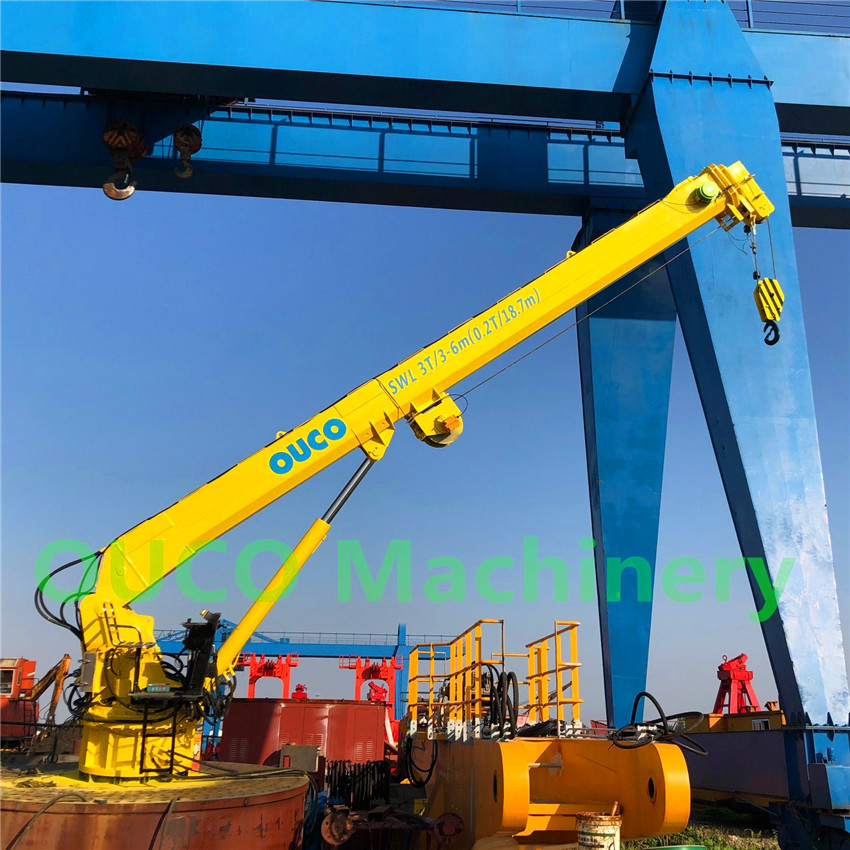 Telescopic Boom Crane0309