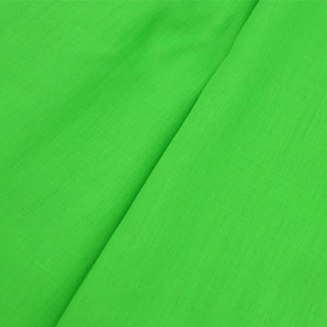 Polyester Cotton Green Fabric
