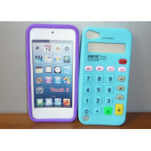 New Design Calculator Silicone Phone Cover Case For Apple Ipod Touch 5, Oem / Odm Custom Service Offer
