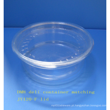 8 oz Plastic Deli Container (CL-D8)