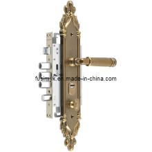 Самая последняя Конструкция Античная Латунь дверной обшивки ручки (Альфа-6122XX)