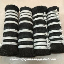 18 cm Black Horse Tail Hair para Industrial Brush