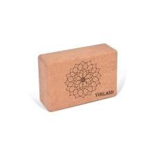 Yugland  Exercise Foam Yoga Block Brick OEM Cork Yoga Block With Custom Design