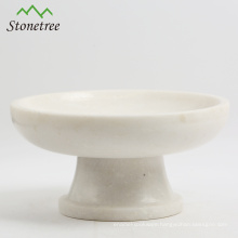 Natural Marble Fruits and Cake Stand or Plate