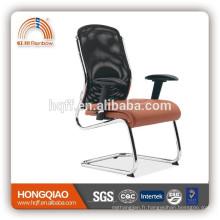 CV-F104BS-1 noir / orange visiteur chaise bras réglable chaise de bureau haut dossier chaise visiteur moderne