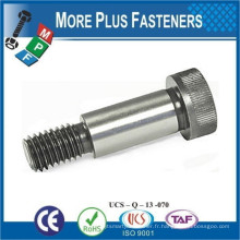 Fabriqué à Taiwan en acier inoxydable Passivated Finish Socket Head Hexagon Drive Shoulder Screw