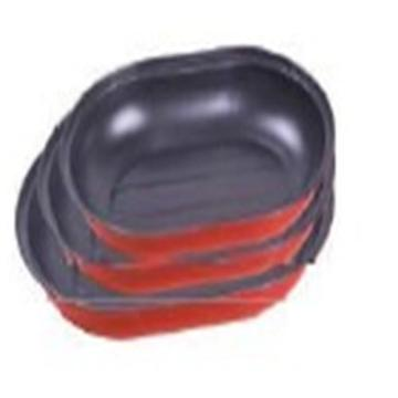 Non-stick Carbon steel oval Roast Pan