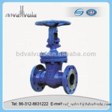 DIN Válvula de compuerta de hierro fundido de baja presión fabricada en China