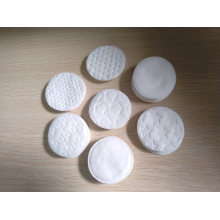 Embossed Round Cosmetic Cotton Pads