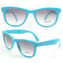 Складные солнечные очки горячих продавая, солнечные очки промотирования (5505B)