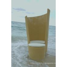 Patio en osier lit Beach Lounge Design moderne