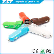 USB in Car Charger CE RoHS for iPhone 5 and Smart Phone