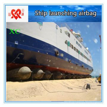 Airbag de borracha marinha de levantamento do navio