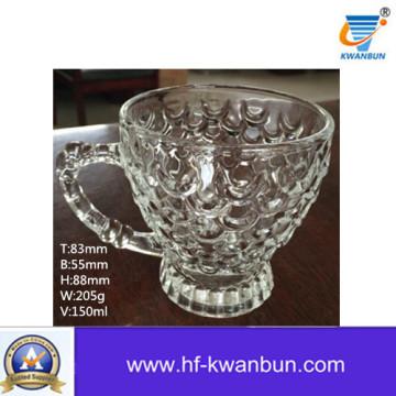 Coupe de café Coupe de verre transparente Théière Kb-Jh06128
