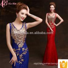 Grandiose Heavy Beaded Cheap Sleeveless Mermaid Evening Dress