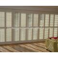 contraventanas de persianas de 89mm exclusivas en madera de tilo en ventanas