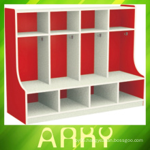 Kindergarten Wooden Furniture Children Coat Locker
