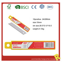 Stationery Utility Knife Blade in PP Box