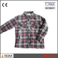 Wattierte lässige Men′s Winter Plaid Shirts langarm