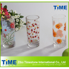 Decal Decorated Glass Tumbler
