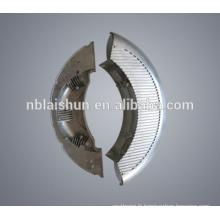 Usine de Dongguan die cast spot spot d'urgence et lampe décorative rotative porte-lumière ronde colorée et prise de courant