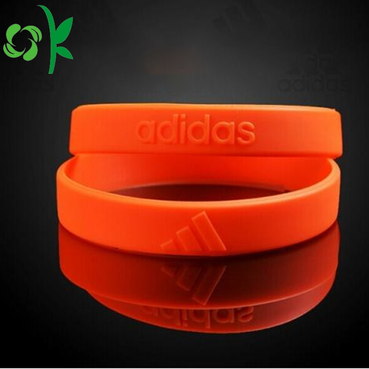 Orange Silicone Wristbands