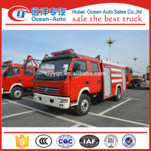 Especificaciones del camión de bomberos del tanque de agua de Dongfeng 4000L