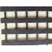 80 / 30kn Warp-Knitting PVC recubierto de geomalla de poliéster