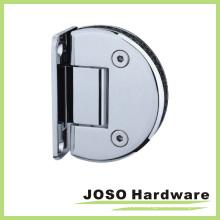 Charnière à douche semi-circulaire à paroi à verre à 90 degrés (Bh7001)