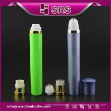 10ml de luxo e alta qualidade roll-on garrafa para creme para os olhos, viberating rolo garrafa