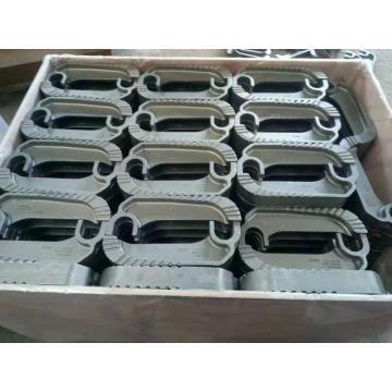 Grille de chaîne de pièces de moulage de précision pour chaudière à gaz