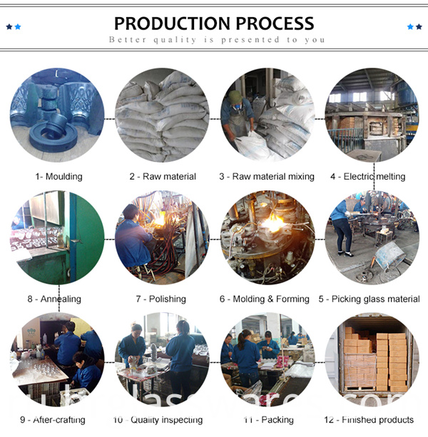 whisky glass cup production process