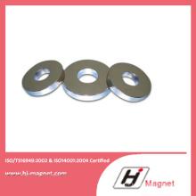 Enduite de Zn N45 permanente anneau aimants de haute qualité