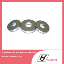 Zn Coated N45 Permannt Ring Magnets with High Quality