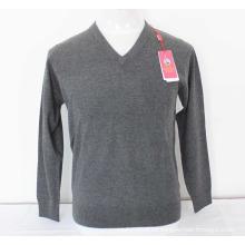 Yak Wolle V-Ausschnitt Pullover Langarm Pullover / Kleidungsstück / Kleidung / Strickwaren