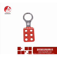 Wenzhou BAODI Safey Equipment Safety Lock Economy Aluminium Lockout Hasp LOTO Lock BDS-K8611