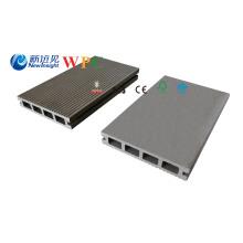 Platelage extérieur de WPC de plancher machiné par 125 * 23mm avec le prix concurrentiel