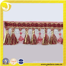 Polyester Tassel Fringe for Shawls Trimming Table Colths